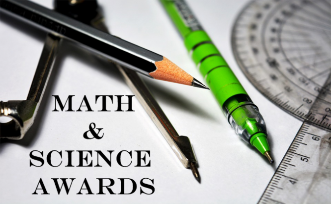 Pens and pencils math and science awards